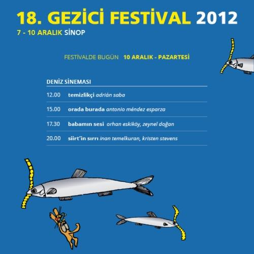 Gezici Festival - 10 Aralık