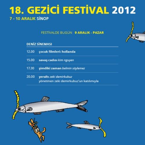 Gezici Festival - 9 Aralık